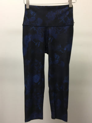 WITH High Waist Capris (Bloom Express Blue)