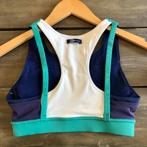 Oiselle Pockito Bra (Shelly Green)