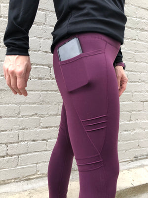 Oiselle Triple Threat Tights (Empire)