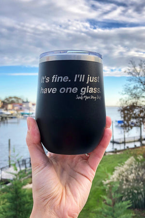 Sarah Marie One Glass Wine Tumbler