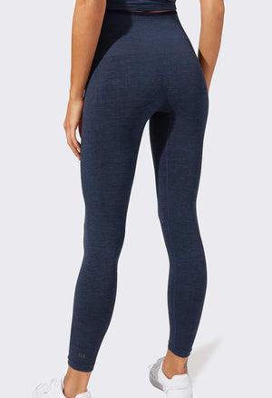 Splits59 Mila Seamless 7/8 Legging (Heather Indigo)