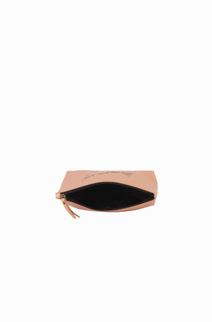 Mona B Solid Gold Cosmetic Bag