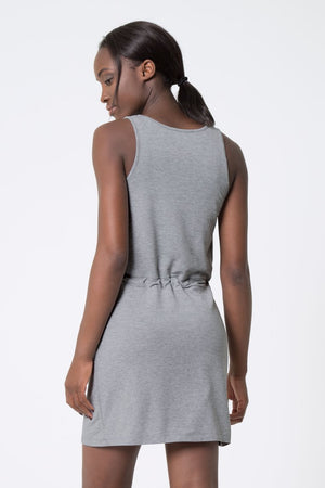 MPG Blissful Luxe Dress (Heather Concrete)
