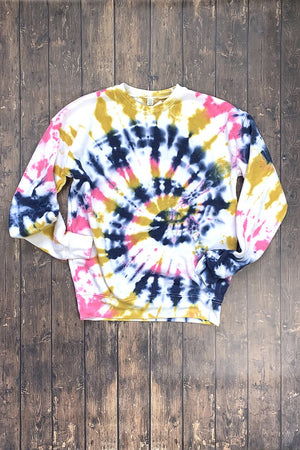 Sarah Marie Out-of-Office Tie Dye Sweatshirt