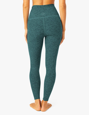 Beyond Yoga Out of Pocket High Waisted Midi Legging (Deep Ocean)