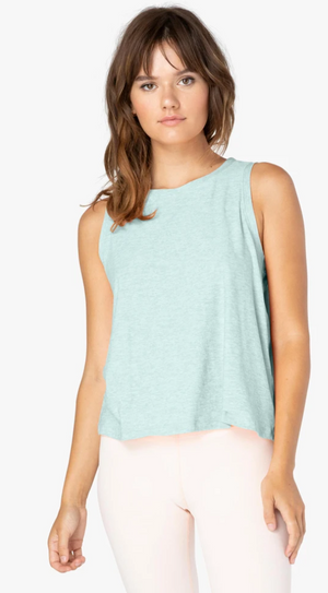 Beyond Yoga Balanced Muscle Tank (Aqua Mint - Sea Glass)