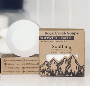 Rock Creek Soaps Soothing Shower and Bath Bomb