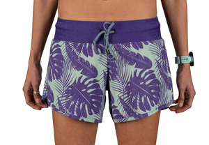"Rabbit Surf 'n Turf 4"" Women's Shorts (Heliotrope/Meadow)"