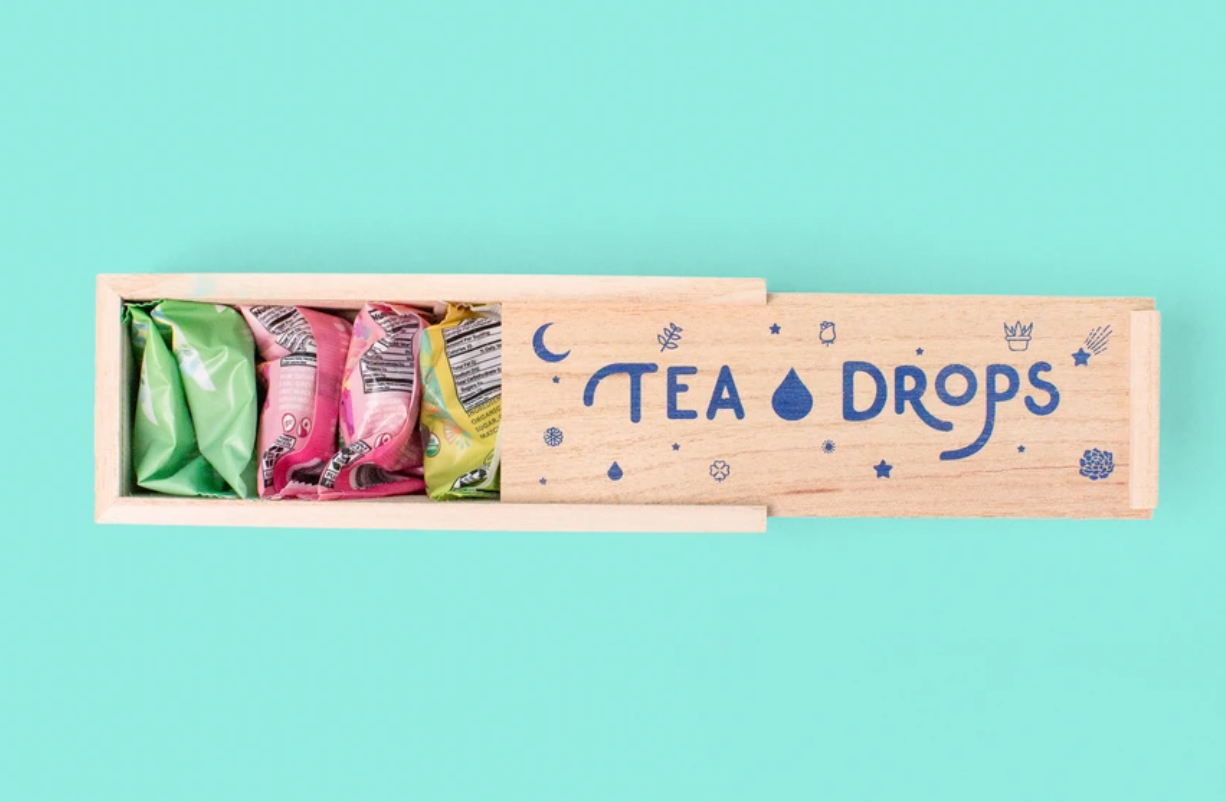 Tea Drops Gift Set - Assortment of 8