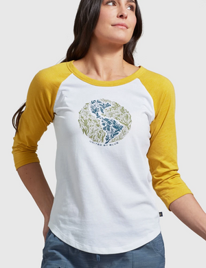 United By Blue Rooted In Nature Baseball Tee