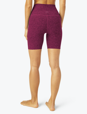 Beyond Yoga High Waisted Biker Short (Magenta)