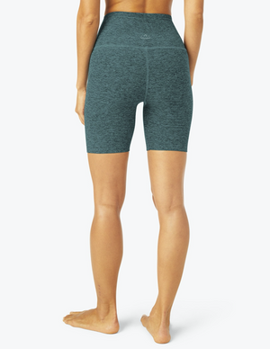 Beyond Yoga High Waisted Biker Short (Deep Ocean)