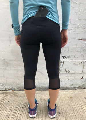 Oiselle Triple Threat Knickers (Black)