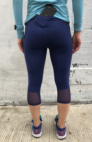 Oiselle Triple Threat Knickers (Grounded)