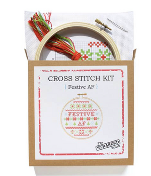 The Stranded Stitch Festive AF Stitch Kit