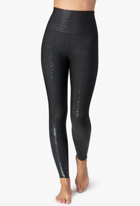 Beyond Yoga Alloy Ombre Legging (Black Foil)