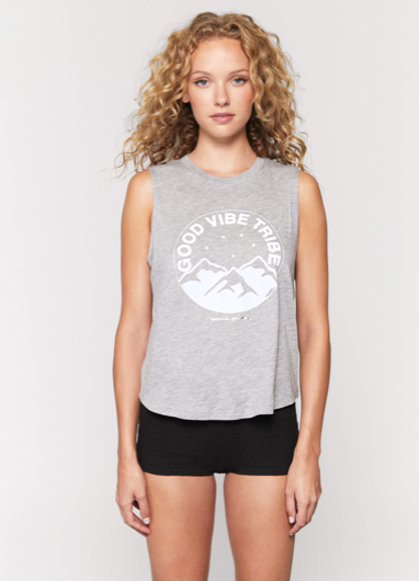 Spiritual Gangster Good Vibe Tribe Muscle Tank