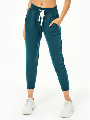 Splits59 Reena 7/8 Fleece Sweatpant (Forest)