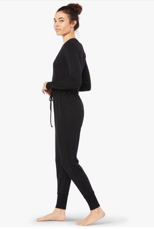 Beyond Yoga Cross Your Heart Jumpsuit