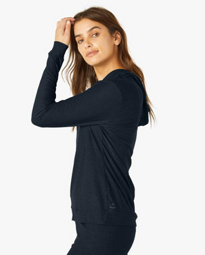 Beyond Yoga Day and Night Hoodie (Nocturnal Navy)