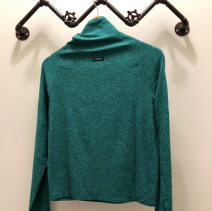 Oiselle Light Lux Mile One Pullover (PNW/Shelly Green)