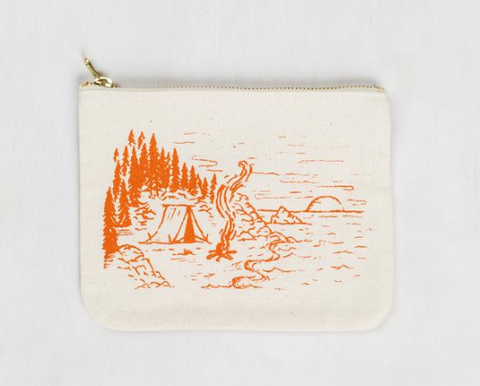 United By Blue Coastline Canvas Pouch
