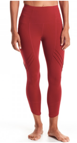 Oiselle New Aero Tights (Ember)