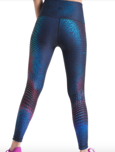 WITH High Waisted Reversible Legging (Roar/Rainbow Spectrum)