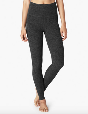 Beyond Yoga High Waist Long Legging (Black/Charcoal)