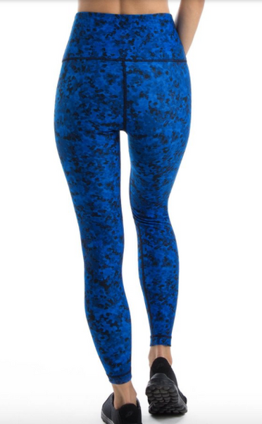WITH High Waisted Legging (Royal Vanish Camo)