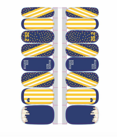 Sarah Marie Boston Nail Wraps