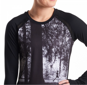 Oiselle Gallery Long Sleeve (Black)