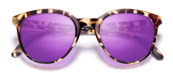 Sunski Makanis Tortoise Purple