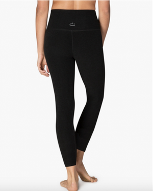 Beyond Yoga High Waisted Midi Legging (Darkest Night)