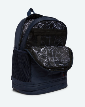 STATE Lenox Backpack in Navy Nylon