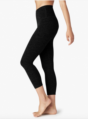 Beyond Yoga High Waist Capri (Darkest Night)