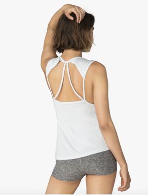 Beyond Yoga Super Slick Drop Arm Tank (Rainwash)
