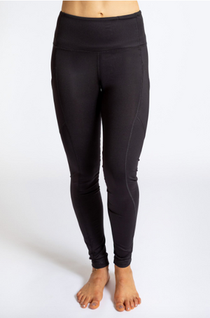 My Inner Fire Pocket Legging (Black/Trees)
