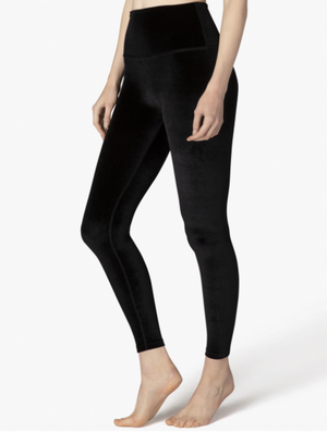Beyond Yoga Velvet Motion High Waisted Midi Legging