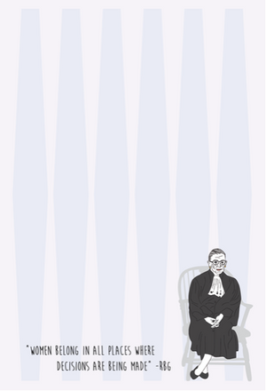 The Card Bureau RBG Notepad