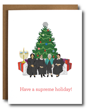 The Card Bureau SCOTUS Ladies Holiday Card
