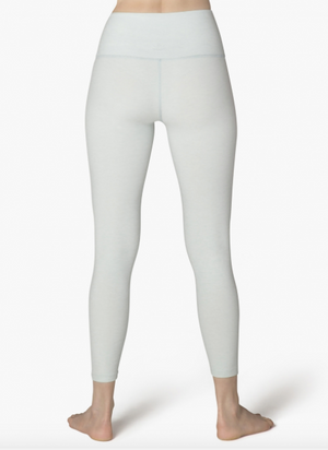 Beyond Yoga High Waisted Midi Legging (Glacier/White)