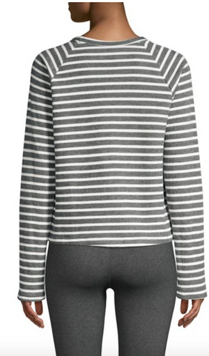 Beyond Yoga Live Out Loud Cropped Pullover