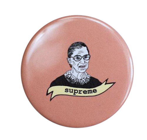 The Card Bureau RBG Supreme Button