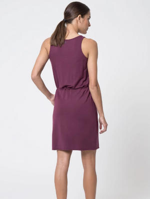 MPG Blissful Luxe Dress (Fig)