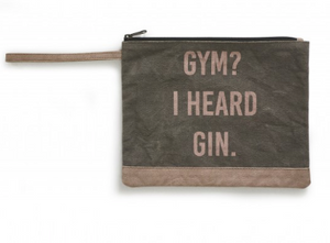 Mona B Gym or Gin? Pouch