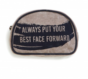 Mona B Best Face Forward Makeup Bag