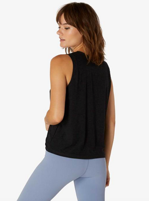 Beyond Yoga Balanced Muscle Tank (Darkest Night)