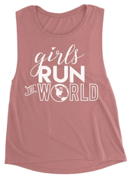 Sarah Marie Girls Run The World Muscle Tank