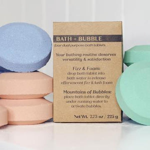 Rock Creek Soaps Bath + Bubble Tablets